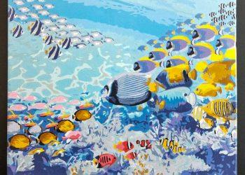 海底世界 | Paint by number | 35easy