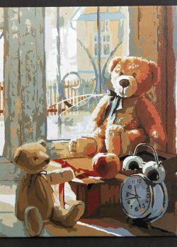 甜蜜熊 | Paint by number | 35easy