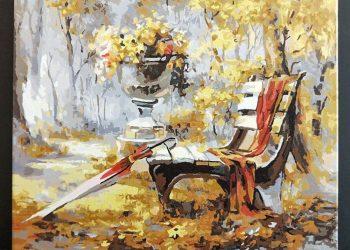 等候 | Paint by number | 35easy