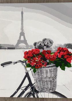 巴黎傾情 | 數字油畫 | 35easy
